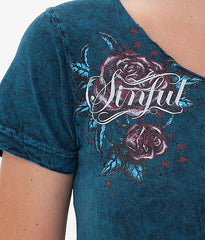 Sinful Wish Reversible Tee