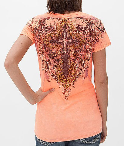 Angels & Diamonds Cross T-Shirt