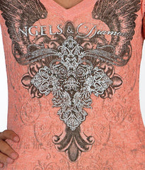 Angels & Diamonds Pieced T-Shirt