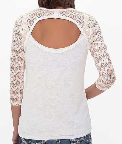 Angels & Diamonds Cross Top