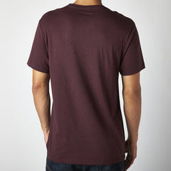 FOX AGELESS SS PREMIUM TEE BURGANDY