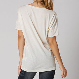 FOX COLD HEART TUNIC BONE WHITE