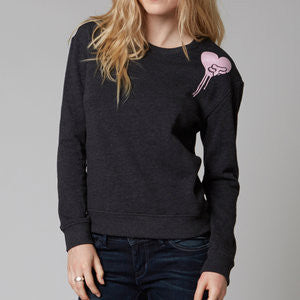 FOX COLD HEART PULLOVER BLACK