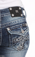 MISS ME JEANS AZTEC CROSS