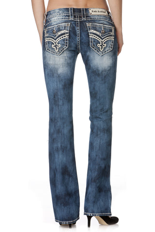 Rock Revival Ladies Marley Boot Cut Jeans