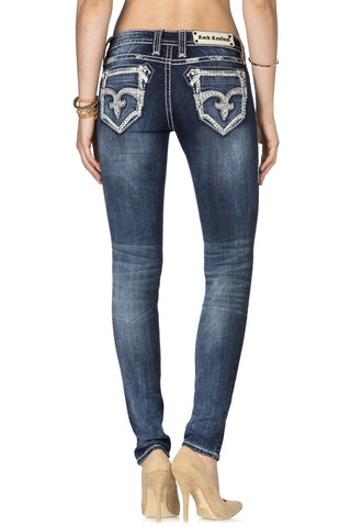 ROCK REVIVAL LUXOR S200 SKINNY CUT JEAN