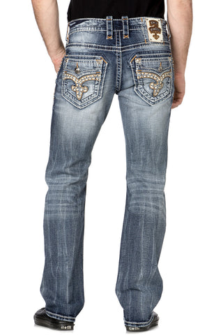 ROCK REVIVAL STELLAN J3 STRAIGHT CUT JEAN