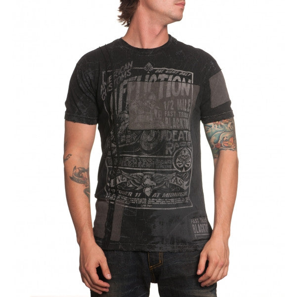 Affliction Fast Track Blacktop S/S Tee