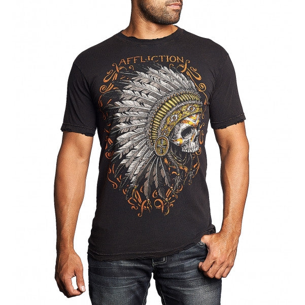 AFFLICTION APACHE S/S TEE