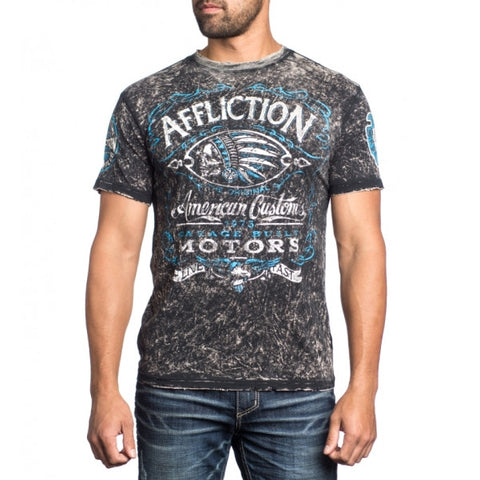 Affliction Prohibition Reversible S/S Crewneck Tee