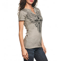 Affliction Syndic S/S Western Slit Neck