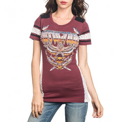 Affliction Metal Storm S/S Panel V Neck