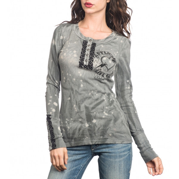 Affliction Marshall L/S Thermal Womens