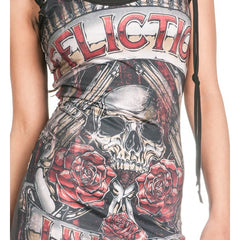 Affliction Hollow Point Dress Womens