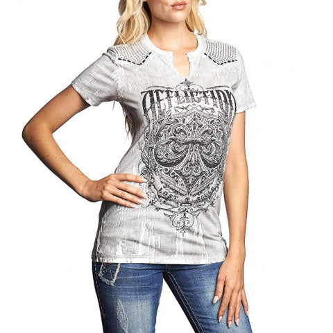 AFFLICTION SCIENCE S/S WESTERN TEE