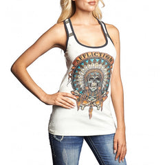 AFFLICTION WILD BUFFALO RAERBACK TANK
