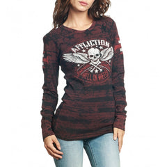 Affliction Heroic L/S Reverisble Thermal Womens