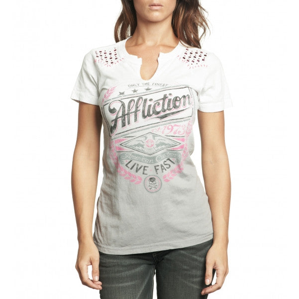 Affliction Lager Western T-Shirt