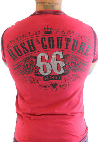 Rush Couture World Famous 66 Red