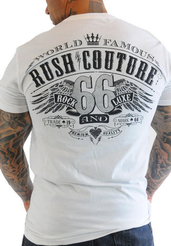 Rush Couture World Famous 66 White