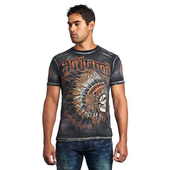 Affliction Peace Pipe S/S Tee