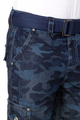 Rock Revival Blue Camo Colored Short