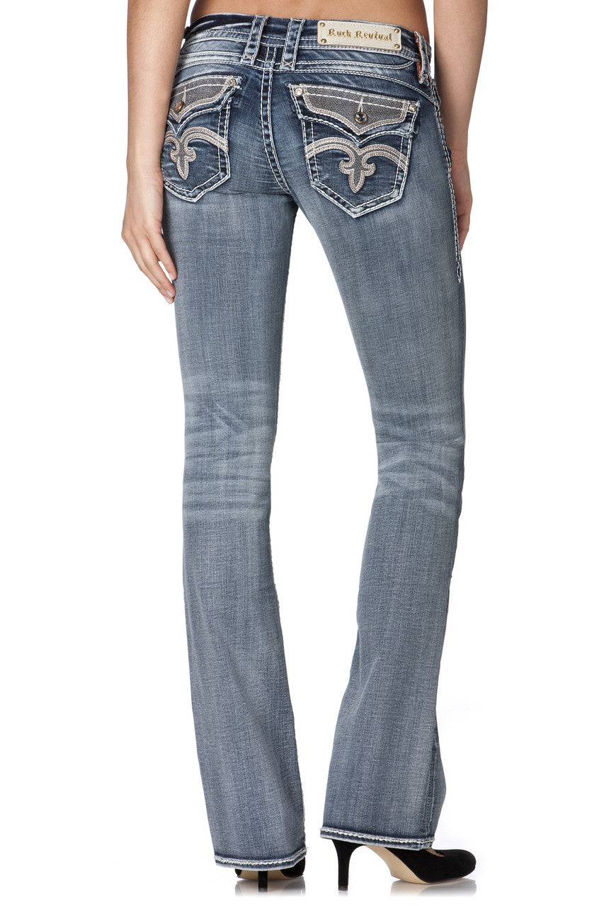 Rock Revival Ladies Anja Boot Cut Jeans