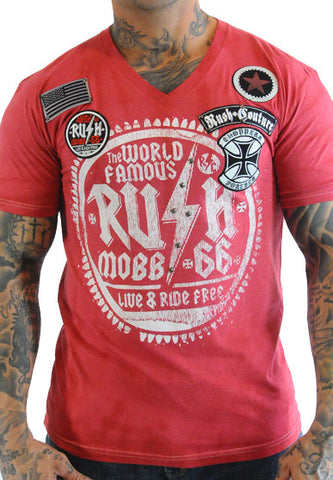 Rush Couture Rush Mobb Patches T-Shirt