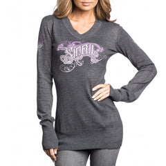 Sinful Prommised L/S Vneck Sweater