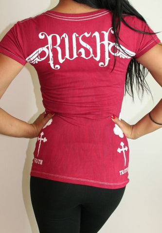 Rush Couture Truth Faith Cross