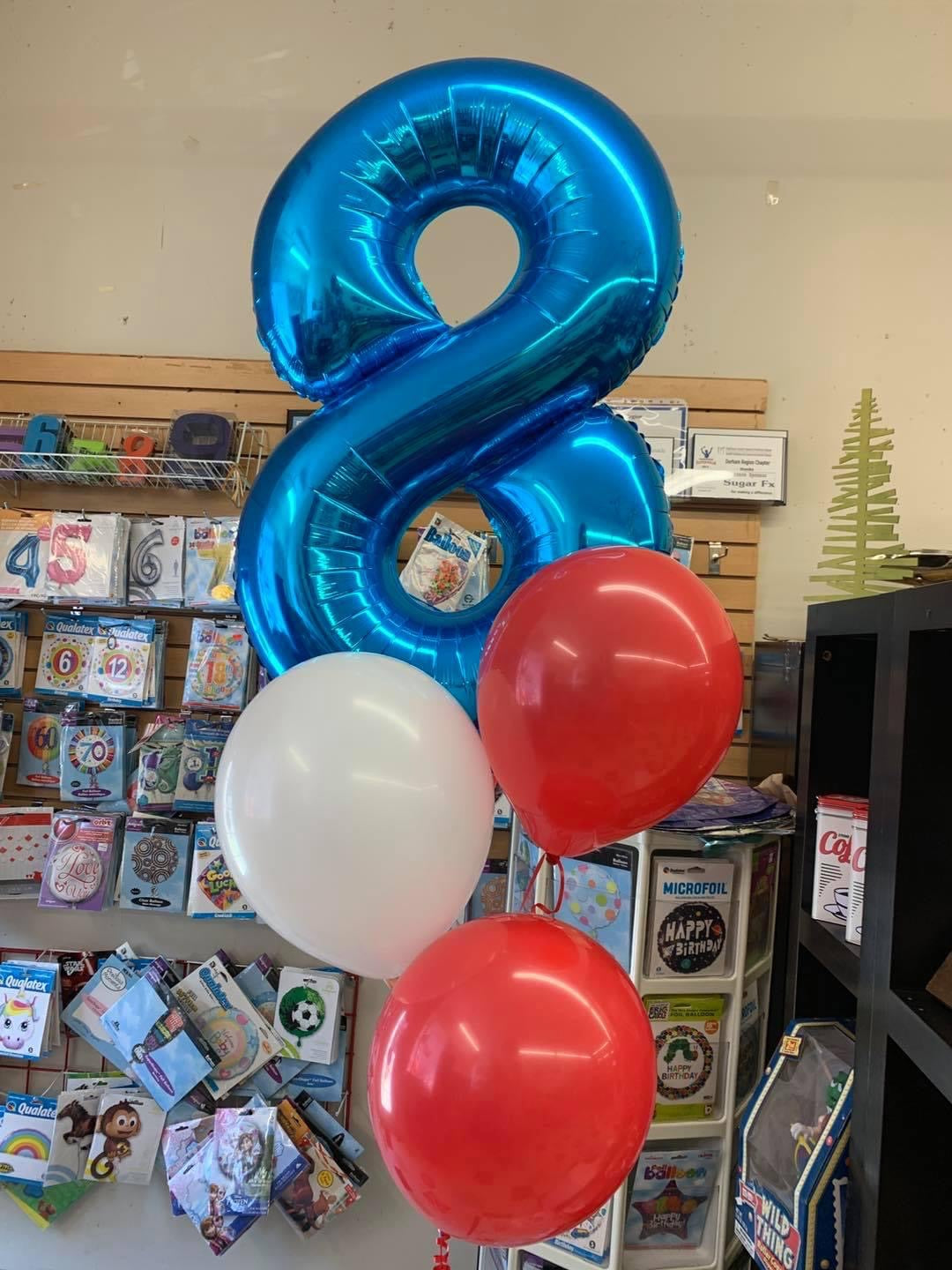 Number Balloon Package