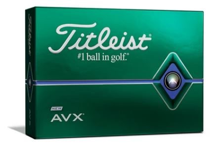 Titleist AVX White Dozen of Golf Balls