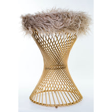 Load image into Gallery viewer, Twisted Stool - Gold