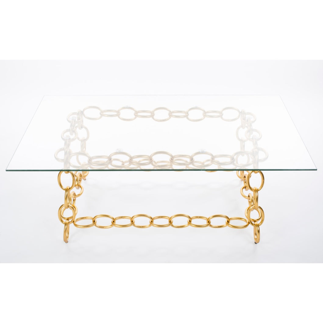 Chainer Coffee Table - Gold