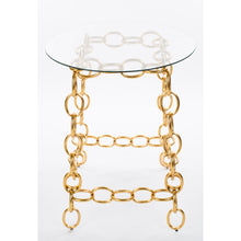 Load image into Gallery viewer, Chainer Side Table - Gold