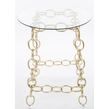 Load image into Gallery viewer, Chainer Side Table - Champagne