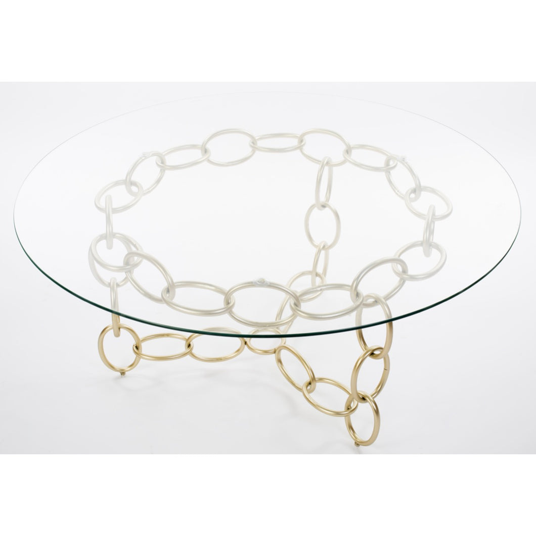 Chainer Center Table - Champagne