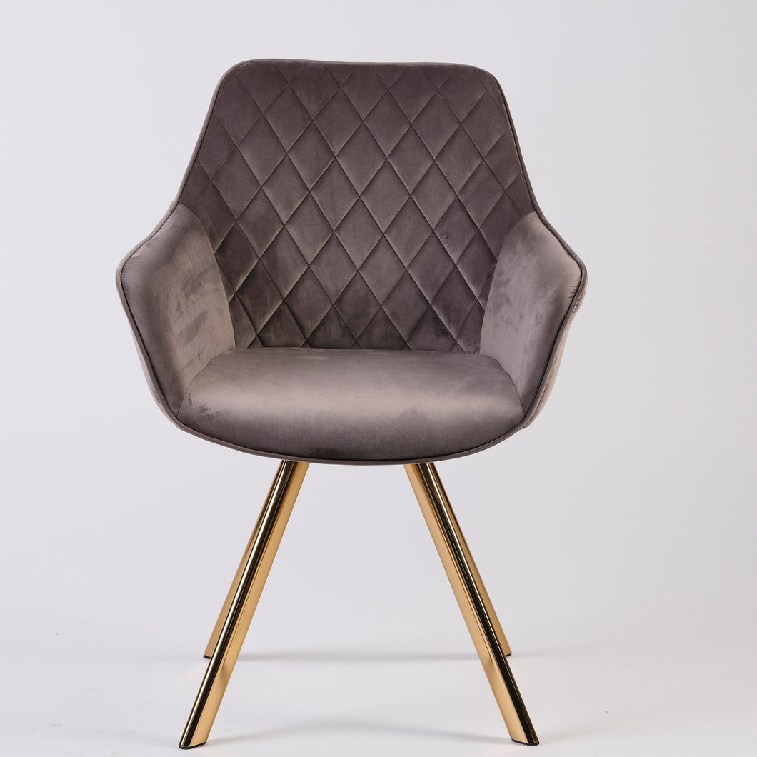 Rhombus Hugo Armchair - Grey