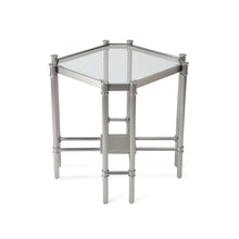 Load image into Gallery viewer, Lavasa Side Table - Silver