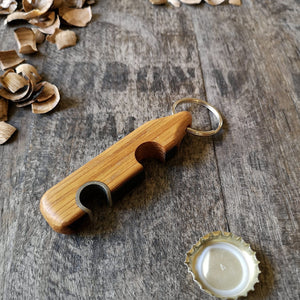 Phone Stand Bottle Opener from Whiskey Woodcraft