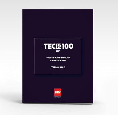 2017 TECH100 Counter Cards