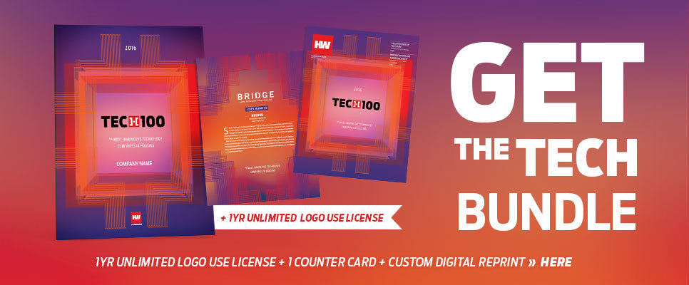 2016 HW TECH100 Recognition Bundle