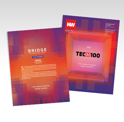 2016 HW TECH100 Full Feature Printed Brochure