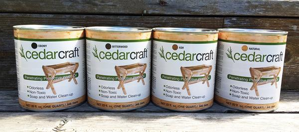 CedarCraft Protective Wood Oil