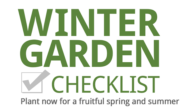 Winter Gardening Checklist