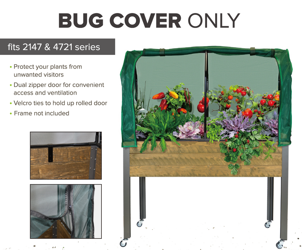 "Replacement Bug Cover for 21"" x 47"" Planters"