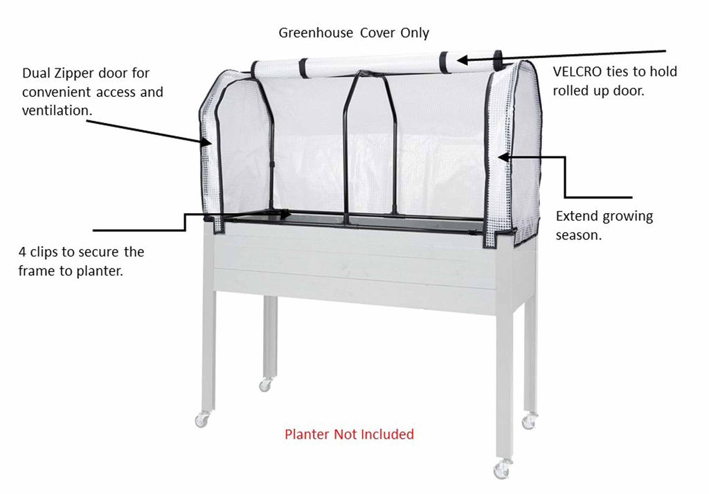 "Greenhouse Cover (21"" x 47"" x 24""H)"