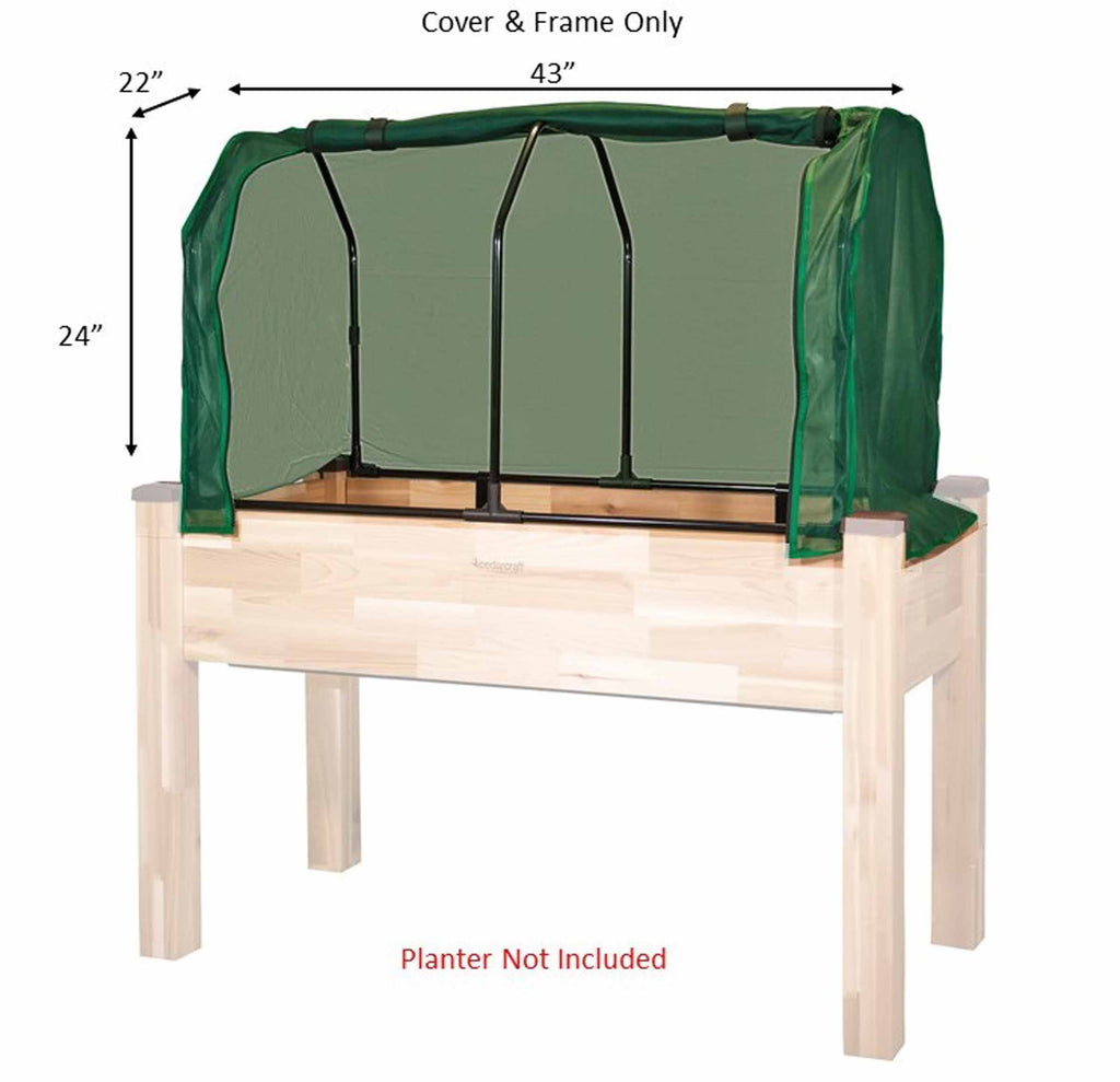 "Greenhouse & Bug Cover Combo (22"" x 43"" x 24""H)"