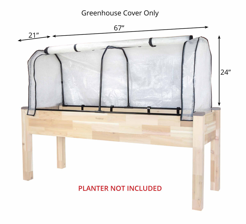 "Greenhouse Cover (21"" x 67"" x 24""H)"