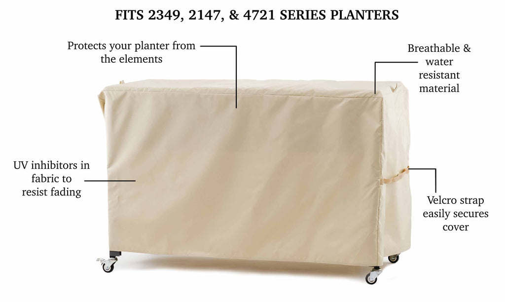 Protective Cover for Elevated Planters (model specific)